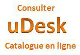 uDesk : catalogue des collections en ligne
